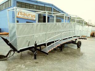новая мобильная рампа SAURUS Cattle Loading Ramp