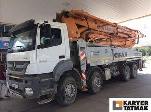 автобетононасос CIFA MERCEDES-BENZ Axor 8x4 CIFA K45H XRZ Carbotech 45 meter Concrete