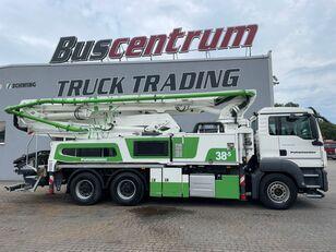 автобетононасос Putzmeister BSF 38-5.16 HLS на шасси MAN TGS 26.400 6x4 Putzmeister 38-5 m / Top Pump / German Truck