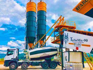 новый бетонный завод Fabo TURBOMIX-90 MOBILE CONCRETE PLANT HIGH QUALITY 90 M3/H