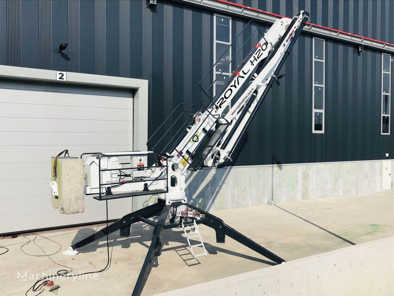 новая бетонораспределительная стрела ROYALMAC HD20 R3 SPIDER PLACING BOOM